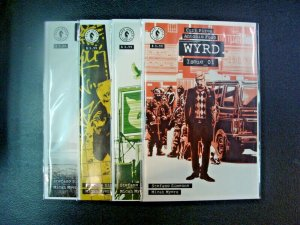 Wyrd #1-4 Complete Set Run Dark Horse Comics