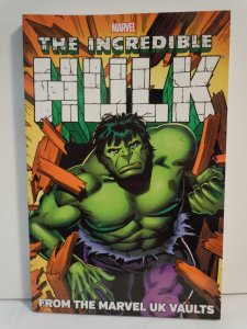 Hulk: From the Marvel UK Vaults TPB