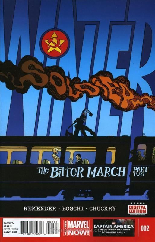 Winter Soldier: The Bitter March #2 VF/NM; Marvel | save on shipping - details i