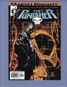 Punisher #3 NM- Marvel Knights 2001