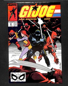 G.I. Joe: A Real American Hero #91 (1989)