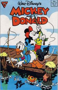 Mickey and Donald (Walt Disney's…) #12 VF/NM; Gladstone   save on shipping - det