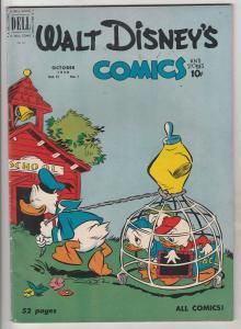 Comics and Stories, Walt Disney's #121 (Oct-50) FN/VF+ High-Grade Donald Duck...