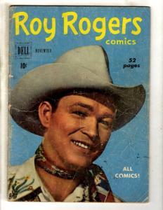 Roy Rogers Comics # 35 VG Dell Golden Age Comic Book Western Cowboy JL2