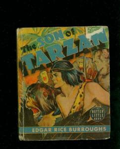 SON OF TARZAN-EDGAR RICE BURROUGHS-#1447-BIG LITTLE BOOKS-TARZAN-1939-vg VG