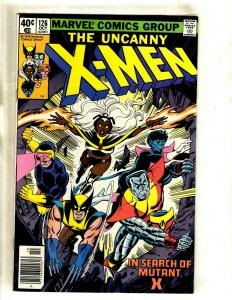 Uncanny X-Men # 126 VF Marvel Comic Book Angel Beast Wolverine Cyclops HY1