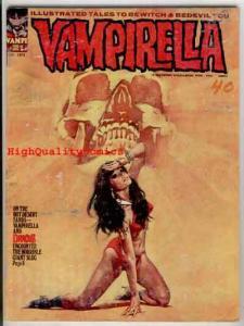 VAMPIRELLA #21, VG, Warren, Vampire, Maroto, Dracula,1969, Magazine, Slug