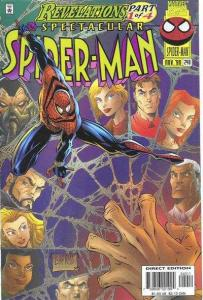 Spectacular Spider-Man (1976 series) #240, VF+ (Stock photo)