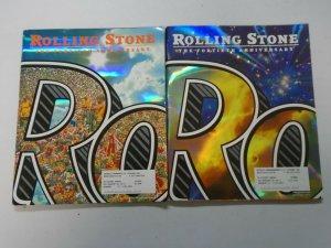 Rolling Stone Magazine 40th anniversary 2 editions (2007)