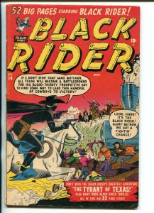 BLACK RIDER #14 1951-ATLAS-JOE MANELLY-HORROR CASTLE-CUSTER-GEORGE TUSKA-vg+