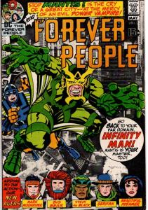 FOREVER PEOPLE #2 FINE 6.0 $15.00