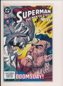 DC Comics SUPERMAN Doomsday! The Man of Steel #19  NM (HX826)