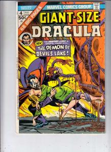 Giant-Size Dracula #4 (Mar-75) FN/VF+ High-Grade Dracula