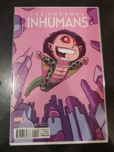 UNCANNY INHUMANS ANNUAL (2016 Series) #1 YOUNG BABY