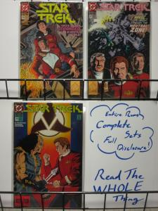 STAR TREK (1989 DC) 46-48 Deceptions! complete story