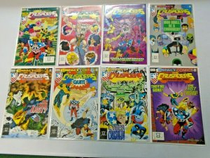 The Crusaders Set + Special #1-8 8.0 VF (1991-1992)