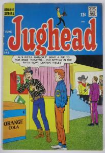 Archie's Pal, JUGHEAD #145 (Archie, 6/1967) VG Jug at the movies!