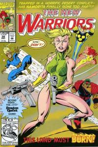 New Warriors (1990 series) #30, VF+ (Stock photo)
