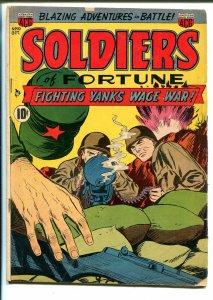 Soldiers of Fortune #10 1952-ACG-Capt Crossbones-Ogden Whitney-Korean War-VG