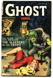 GHOST #6-FICTION HOUSE HORROR-1953 Pre-Code horror comic book