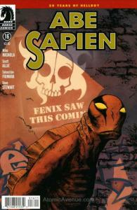 Abe Sapien: Dark and Terrible #16 VF/NM; Dark Horse | save on shipping - details