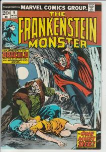 Frankenstein, the Monster of #9 (Mar-74) VF/NM High-Grade Frankenstein