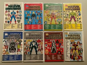 Official Handbook Marvel Universe Master Edition 14 diff. #2-33 NM in polybags