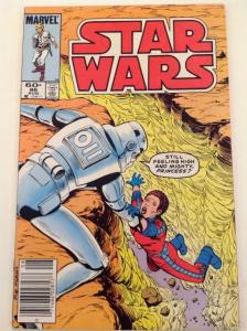 STAR WARS #86, FN, Luke Skywalker, Darth Vader, 1977, more SW in store, UPC