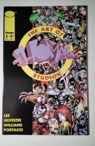 The Art of Homage Studios #1 (1993) Image Comic Book J756