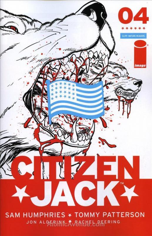 Citizen Jack #4A VF/NM; Image | save on shipping - details inside