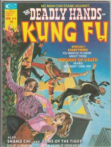 Deadly Hands of Kung Fu #8 (Jan-75) VF/NM+ High-Grade Shang-Chi, Sons of the ...