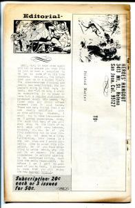 Heroes Hangout #4 1967-Rudi Franke-Capt Marvel-Superman-Green Lama origin-FN