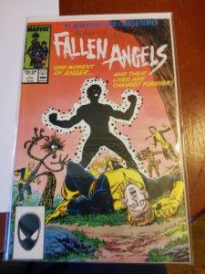Fallen Angels #1 (1987) signed