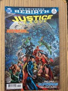 Justice League #4 (2016)
