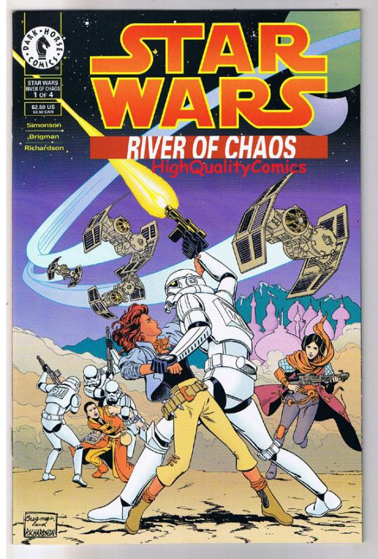 STAR WARS : RIVER of CHAOS #1, NM-, Storm Troopers,1995, more SW in store