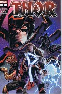 Thor #1 Walmart Variant Cover 2020 Marvel Comics Galactus Beta Ray Bill