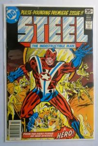 Steel the Indestructible Man #1, 6.0/FN (1978)