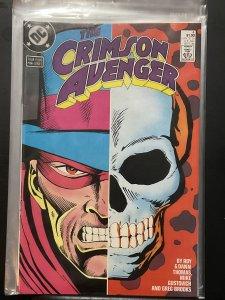 Crimson Avenger #4 (1988)