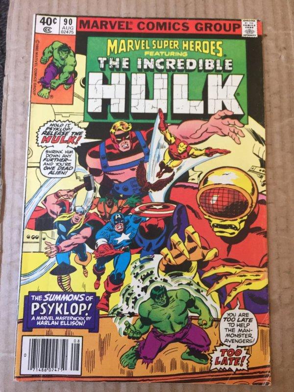 Marvel Super-Heroes #90 (1980)
