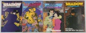 the Shadow vol. 2 #1-4 VF complete series - howard chaykin - DC comics 2 3