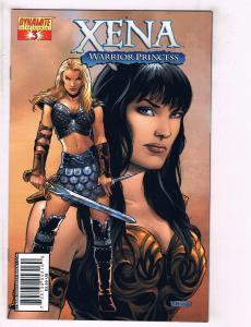Xena Warrior Princess # 3 NM Dynamite Entertainment Comic Book Lucy Lawless J111