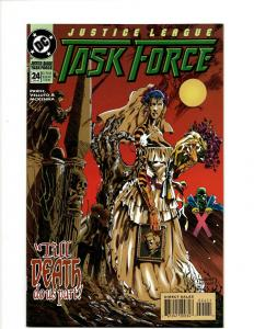 Lot of 10 Justice League Task Force Comics #24 25 26 27 28 29 30 31 32 33 J396