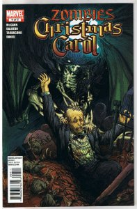 ZOMBIES CHRISTMAS CAROL #4, NM, Xmas, Scrooge, 2011,undead,more Zombies in store