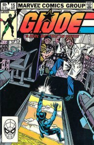 G.I. Joe, A Real American Hero #15 VF; Marvel | save on shipping - details insid