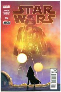 STAR WARS #4, VF+, Luke Skywalker, Darth Vader, 2015, more SW in store