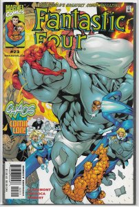 Fantastic Four (vol. 3, 1998) #23 FN Claremont/Larroca, Awesome Android