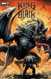 KING IN BLACK #4 TYLER KIRKHAM 2 COMIC SET  CRAIN VENOM 3 PEACH