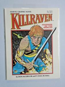 Killraven Warrior of Worlds #1 GN Graphic Novel NM (1983)