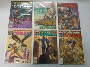 Savage Sword of Conan lot 18 different from #31-111 avg 7.0 FN VF (1978-85)