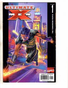 Lot Of 9 Ultimate X-Men Marvel Comic Books # 1 2 3 4 5 6 7 8 9 Wolverine GM13